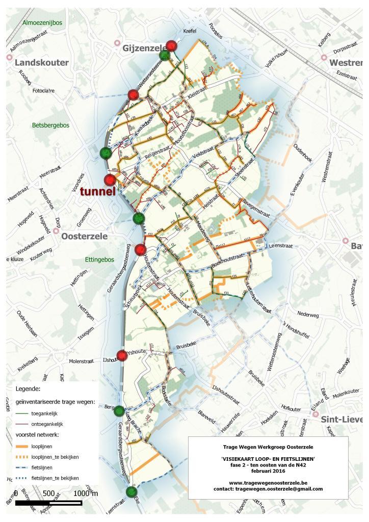 Looplijnen gebied 2