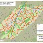 Onze visiekaart met het voorgestelde looplijnennetwerk (om op te slaan: rechtsklikken en 'doel opslaan als...'!)